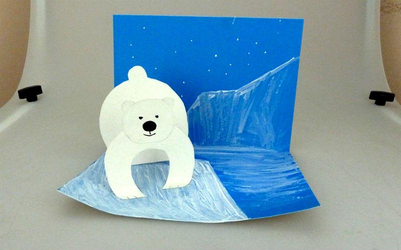 Как сделать медведи из бумаги