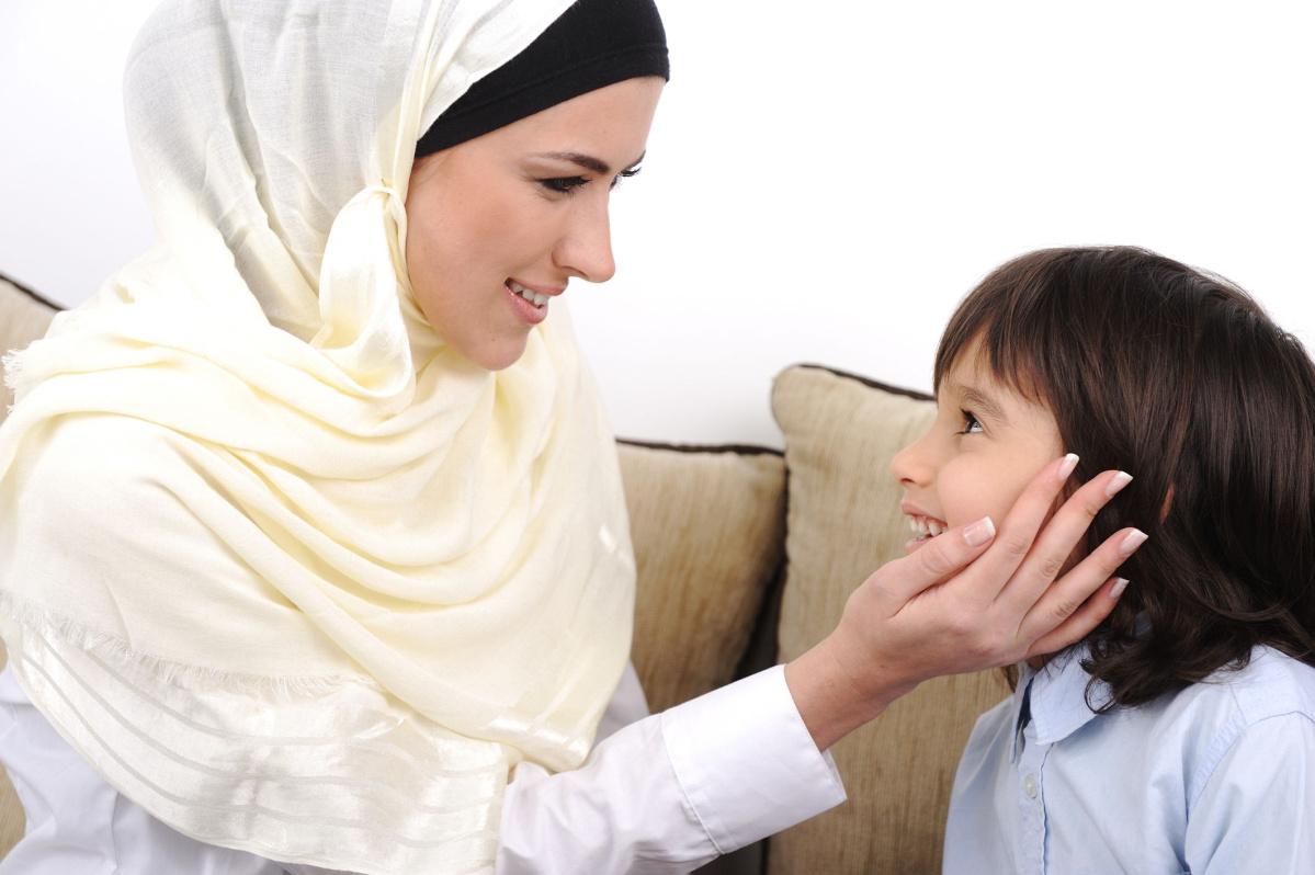 Фото мусульманка и дети